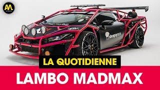 Une Lamborghini UNIQUE au monde ! - La Quotidienne #5