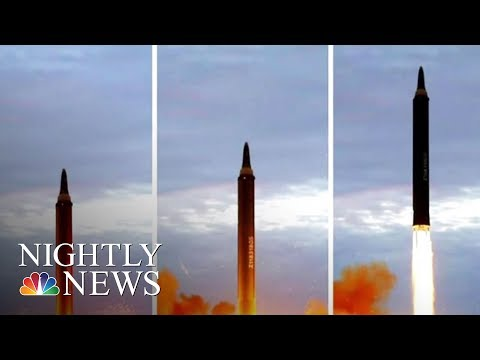 North Korea Missile Launch Rattles Japan | NBC Nightly News