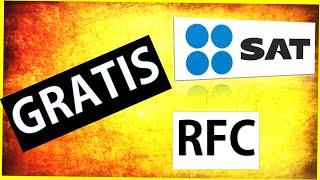 RFC Como sacar el RFC por internet con la CURP - 2019 - 2018 GRATIS 🆗🆗🆗