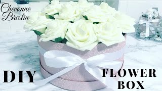 DIY FLOWER BOX   PINK HOME DECOR IDEAS   SPRING DECOR