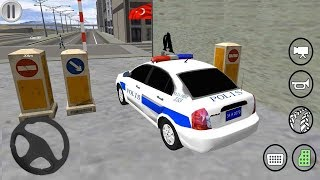 Hyundai Accent Turkish Police Car Thief Catch Game For Kids - Police Simulator # 2