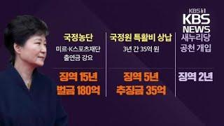 [심층인터뷰] 징역 20년 확정…사면론 재점화 / KBS