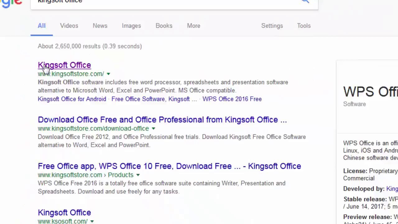 How to Download and Install WPS Office