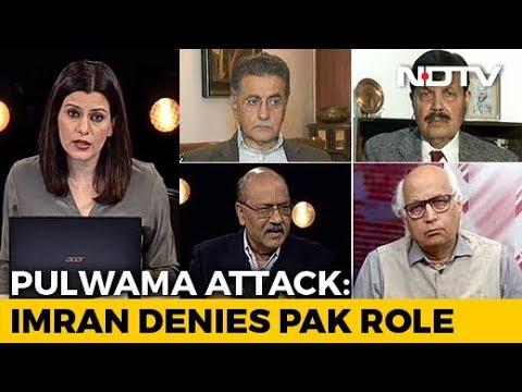 "Imran Khan Denies Pak Link To Pulwama, India Says ""Lame Excuses"""