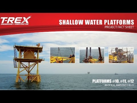 Shallow Water Platforms Installation