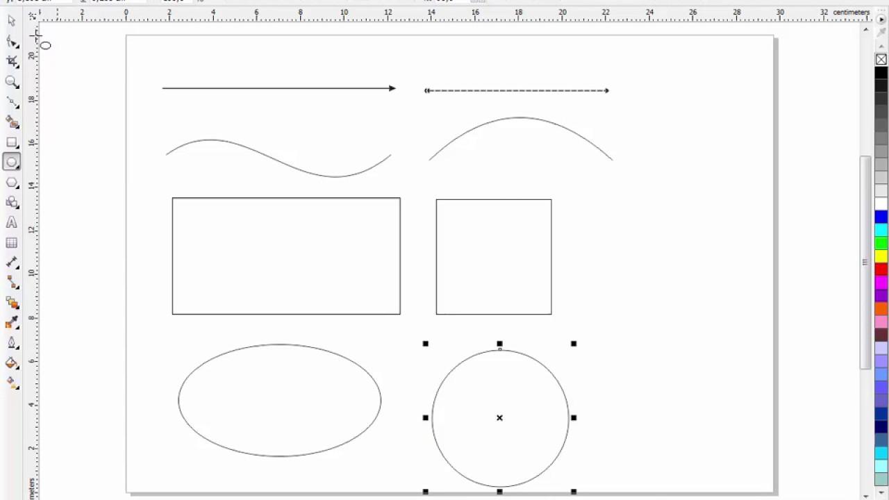 Belajar Desain Grafis Pemula Trik Menggambar Bangun Datar