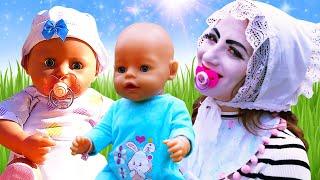 Смешные видео с куклами - Новая малышка БЕБИ БОН! - Детские мультики с Baby Born. Игры одевалки.