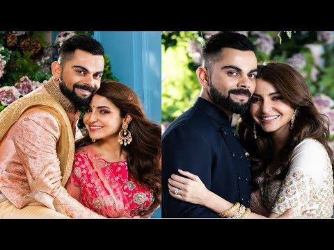 Anushka Sharma And Virat Kohli Photoshoot For First Wedding Anniversary