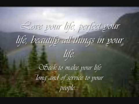 Great Spirit Prayer Wisdom