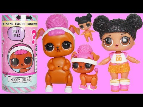 NEW LOL Dolls Dress Up Interactive Live Pets with Wave 2 Eye Spy