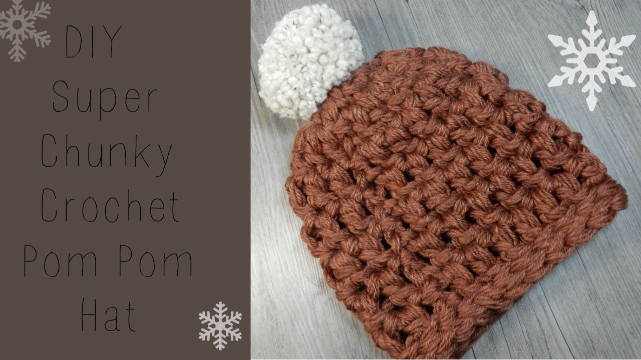 DIY  Crochet Chunky Beanie Super Fast and Easy - YouTube b0c730a1e14