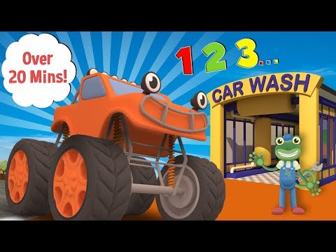 Learn to Count at Gecko's Garage | Educational Videos For Children