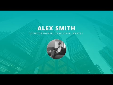 How To Create a Portfolio, CV, Resume Presentation Template in Microsoft Office PowerPoint PPT