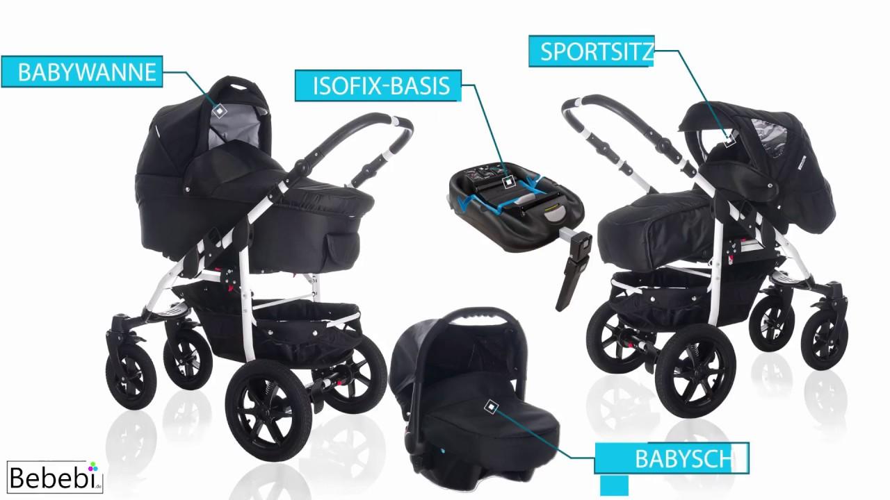 Kinderwagen 3 In 1 Isofix | Kinder