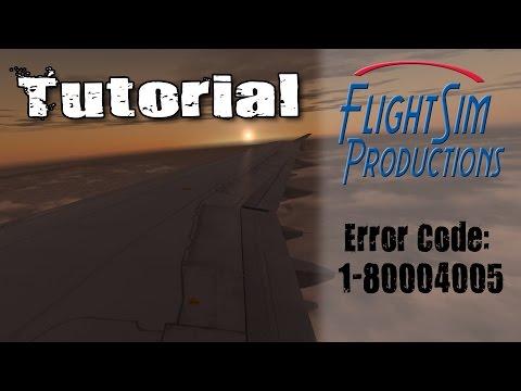 Error Code: 1-80004005