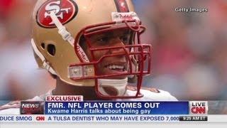 Former NFL player comes out thumbnail
