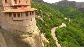 Greece, Meteora full HD