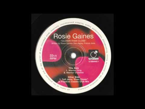 Rosie Gaines - Closer Than Close (Frankie Knuckles Classic Club Mix)