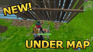 *NEW* Fortnite Glitch (UNDER THE MAP) How to get under Salty Springs FORTNITE BATTLE ROYALE 2018