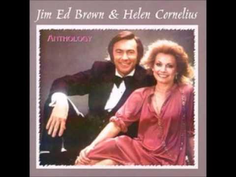 Jim Ed Brown & Helen Cornelius - **TRIBUTE** - Fall Softly Snow (c.1977).