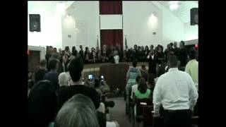 "New Saint Paul Baptist Church Reunion Choir feat. Rev. Cedric Chambers - ""I'm Just Holding On"""