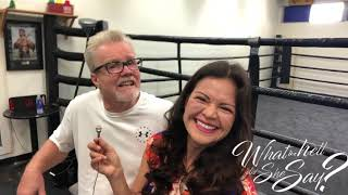 Freddie Roach iconic boxing Trainer - Interview