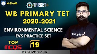 Primary TET EVS Questions | Practice Set 19 | Environment Science for Primary TET, CTET, WBSSC