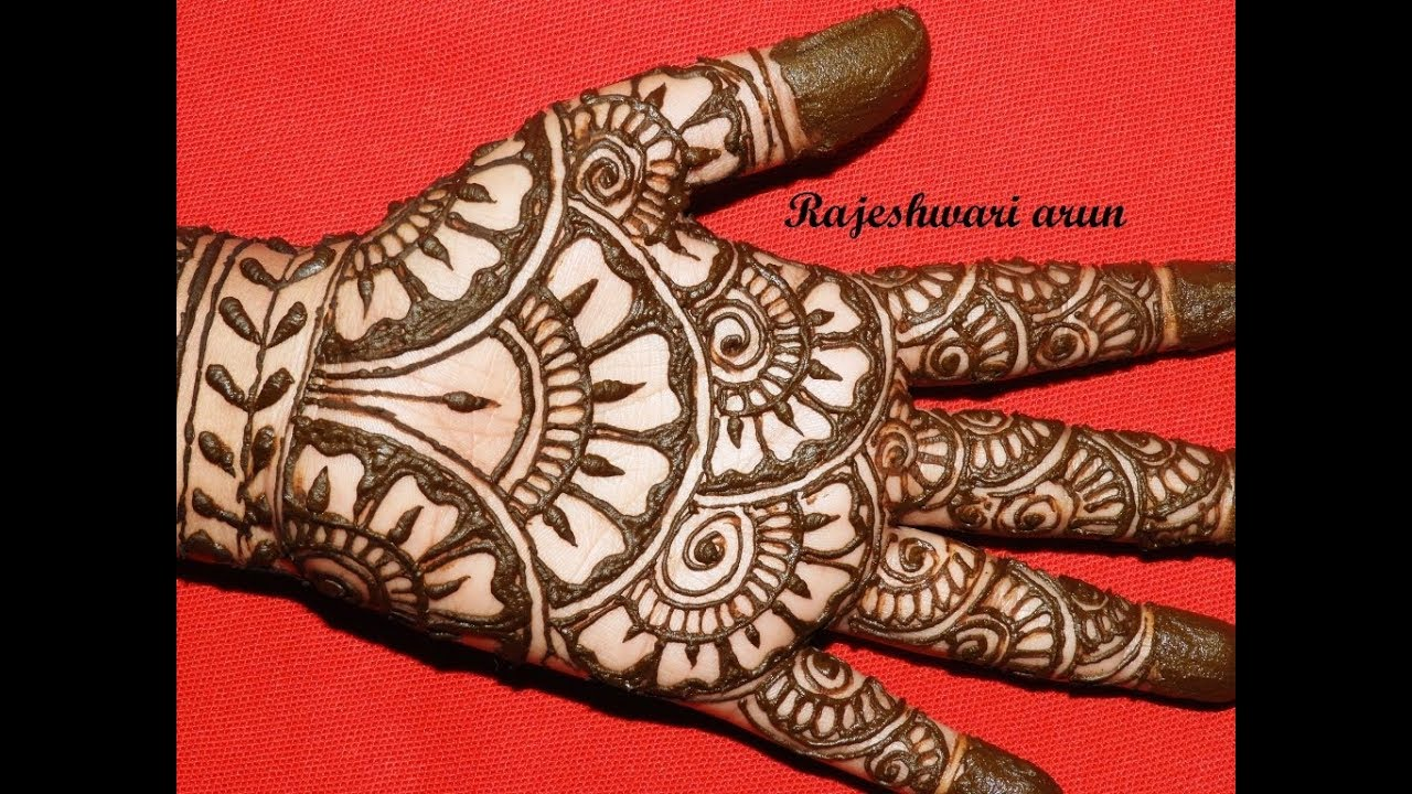 Simple Easy Full Hand Mehndi Designs Beautiful New Bridal Mehndi