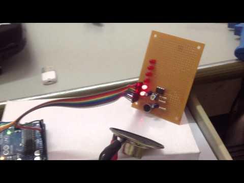 Arduino วัดความถี่ 2-7kHz ทดสอบจริง v.1 รับทำหุ่นยนต์ ระบบอัตโนมัติ โทร 0801427711