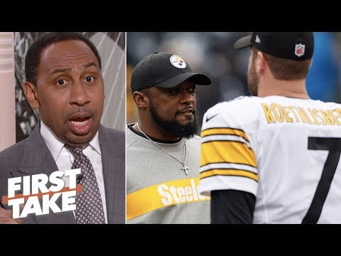 Stephen A. 'very worried' Steelers will miss playoffs | First Take