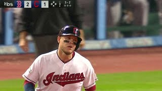 BOS@CLE Gm1: Perez launches a homer to right
