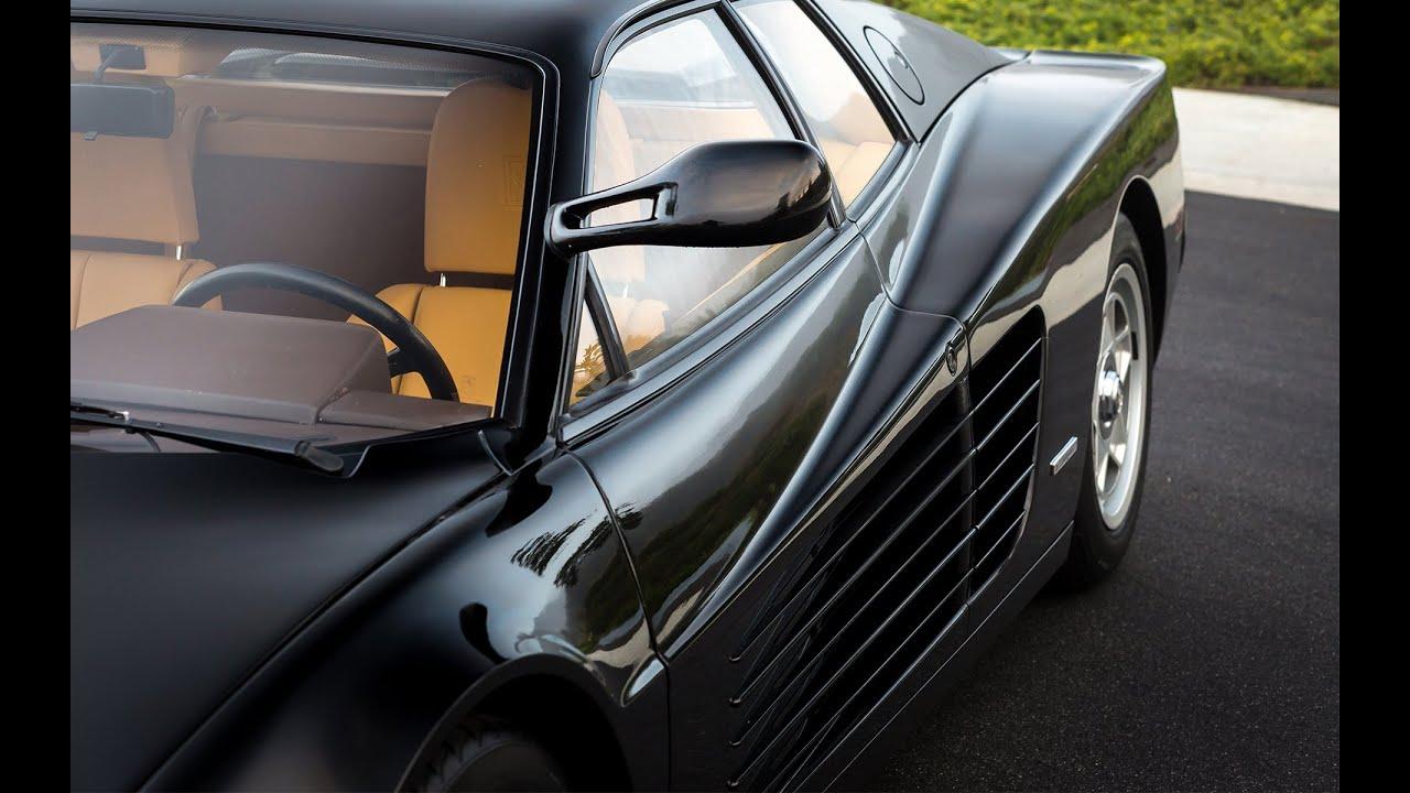 "1986 Ferrari Testarossa ""Flying Mirror"" - YouTube"