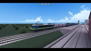 Roblox. Game Rails Unlimited - BETA.. con un treno HLE belga...