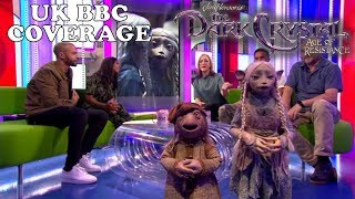 The Dark Crystal: Age of Resistance - UK BBC Coverage