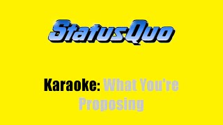 Karaoke: Status Quo / What You