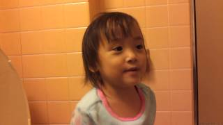 Sylvia - chatting while on the potty
