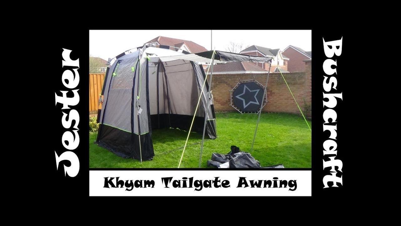 Khyam Tailgate Awning For My Citroen Berlingo Mpv