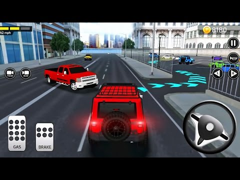 Simulator Police Car Parking Frenzy 3D - Best Android Gameplay - 7