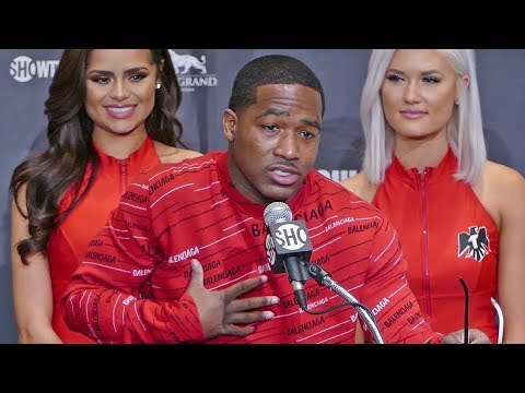 Adrien Broner POST FIGHT PRESS CONFERENCE vs. Manny Pacquiao | ShowTime Boxing