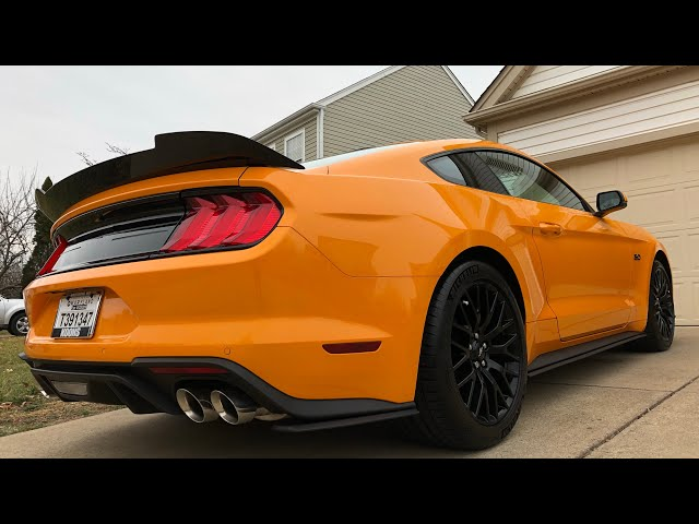 Corsa Active Exhaust on my 2018 mustang GT(LOUD)