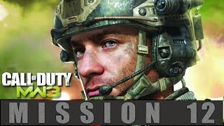 Call of Duty Modern Warfare 3 Mission 12 Blood Brothers Gameplay Walkthrough [PC]