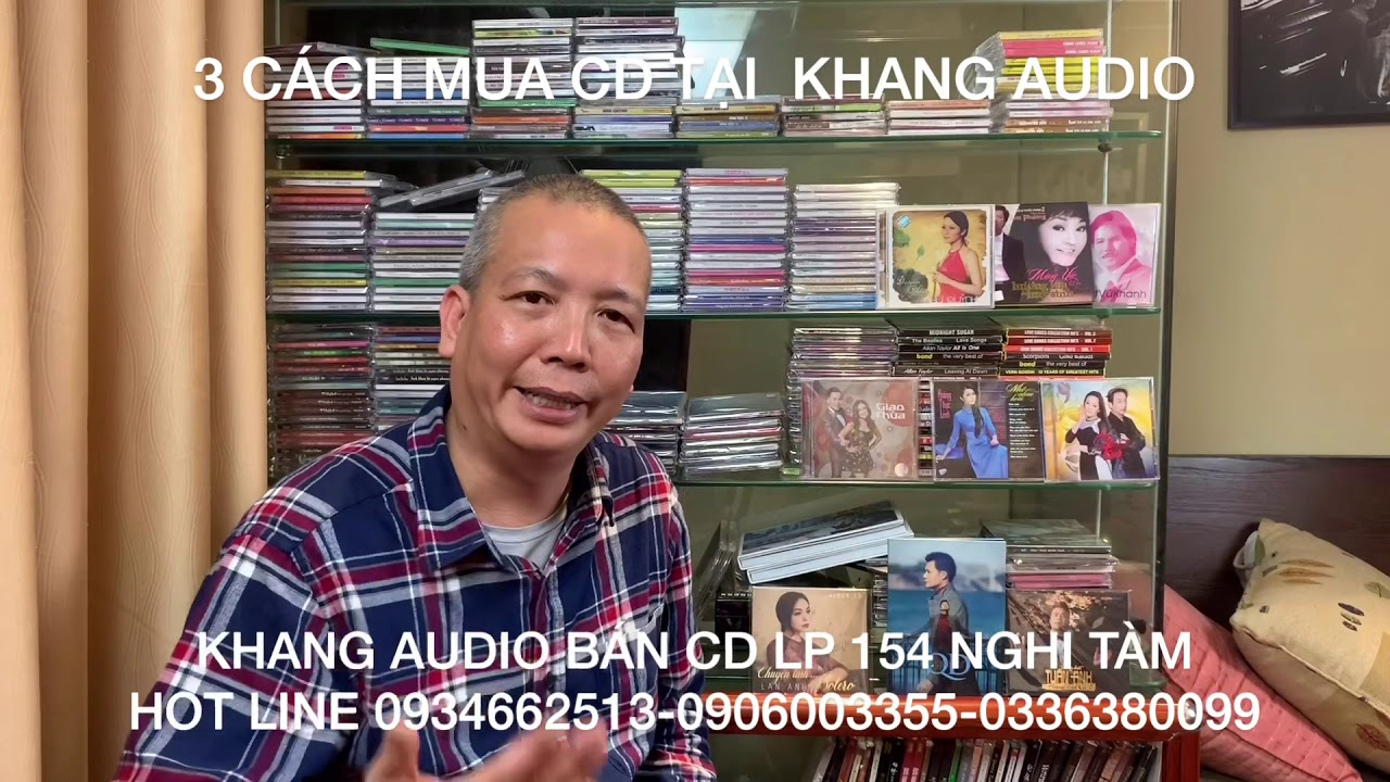 3 Cách Mua Đĩa CD Và Đĩa LP Tại Khang Audio