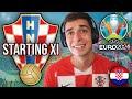 MY CROATIA XI FOR EURO 2021 🇭🇷