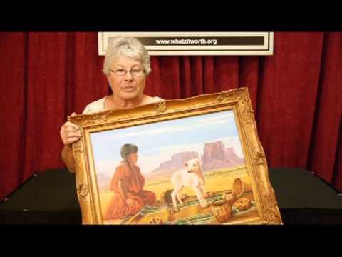 Palo Alto Auction Painting - WHATZ IT WORTH?  2013