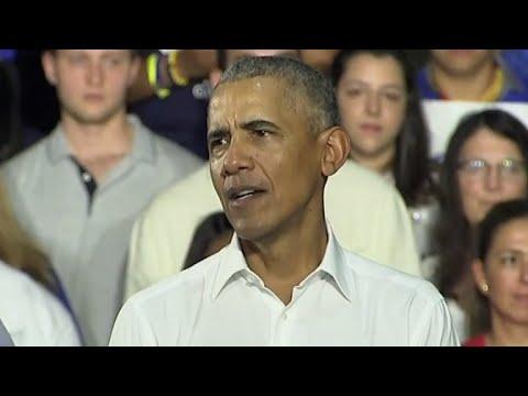 Obama campaigns for Democrats in Florida
