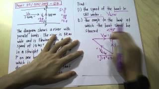 O-level - IGCSE - Relative Velocity 1