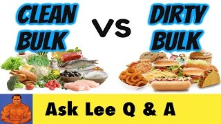 """Can Eating """"Too Clean"""" Hinder Your Muscle Gains and Make It Harder To Bulk Up?"""
