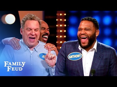 EPIC EPISODE! It's Black-ish Vs. The Goldbergs! | Celebrity Family Feud