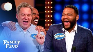 EPIC EPISODE Its black-ish vs The Goldbergs  Celebrity Family Feud