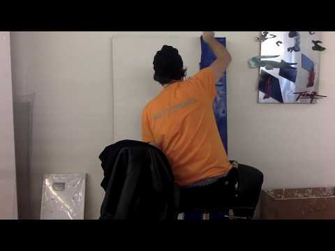 Making Solar Panel Painting #1